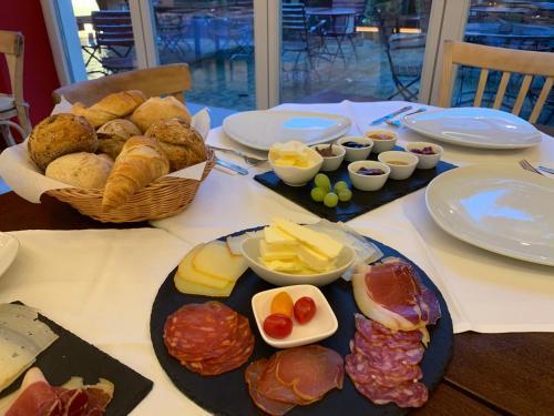 Frühstücksoptionen für Gäste der Unterkunft Ringelnatz Inselhotel