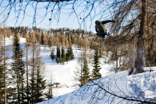 Hotel Alpen Arnika v zimě