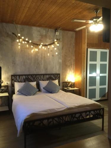 Ein Bett oder Betten in einem Zimmer der Unterkunft Al Boccalino Bed&Breakfast