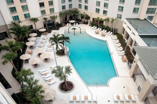 A view of the pool at TownePlace Suites by Marriott Orlando Theme Parks/Lake Buena Vista or nearby