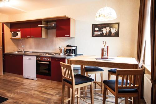 Küche/Küchenzeile in der Unterkunft FW Loreleyblick