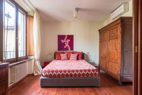 Cama o camas de una habitación en Design Apartments Florence- Florence City Center