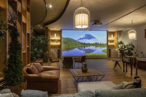 The lobby or reception area at Kiki Shiretoko Natural Resort
