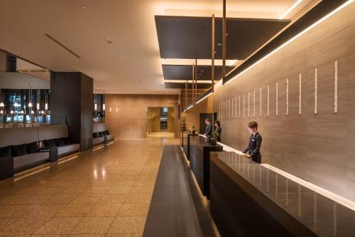Лобби или стойка регистрации в Hilton Nagoya Hotel