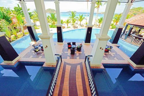 Вид на бассейн в Sari Pacifica Resort & Spa, Redang или окрестностях