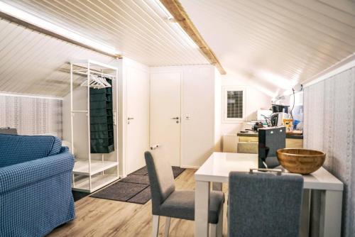 Zona de estar de Beautiful holiday home (studio) in Rovaniemi