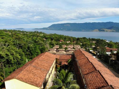 A bird's-eye view of Hotel da Ilha