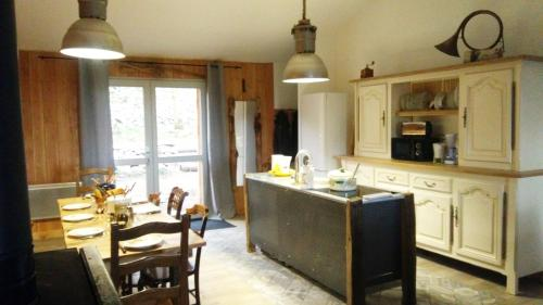 A kitchen or kitchenette at Gites La Boletiere