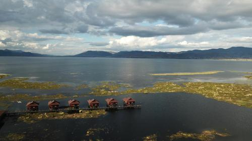 A bird's-eye view of The Inle Sanctuary,Phayartaung