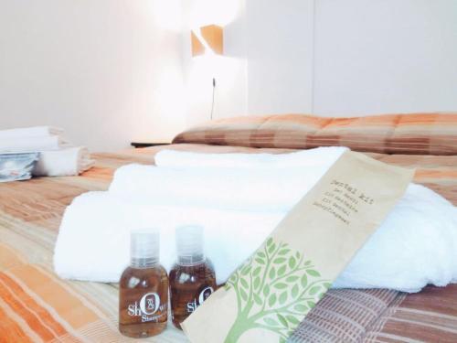 Letto o letti in una camera di Hotel Residence National Park
