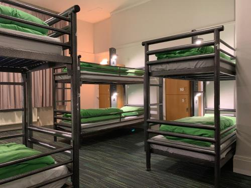 A bunk bed or bunk beds in a room at YHA London Earl's Court