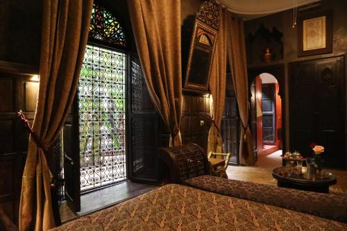 A seating area at Riad ILayka
