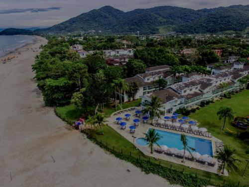 A bird's-eye view of Beach Hotel Juquehy