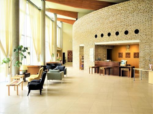 The lobby or reception area at Mineyama Kogen Hotel Relaxia
