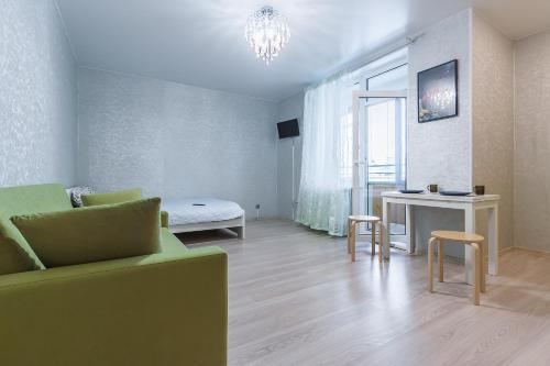 Гостиная зона в Apartment on Kremenchugskaya