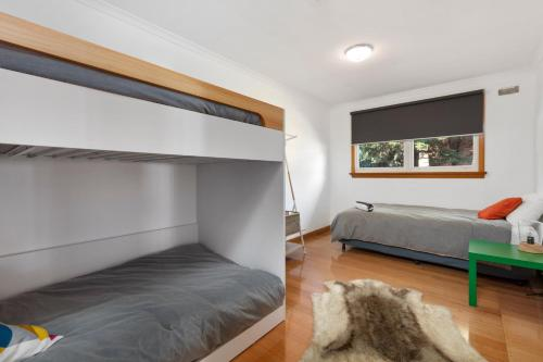 A bunk bed or bunk beds in a room at The Cure at Derby- Entire Property