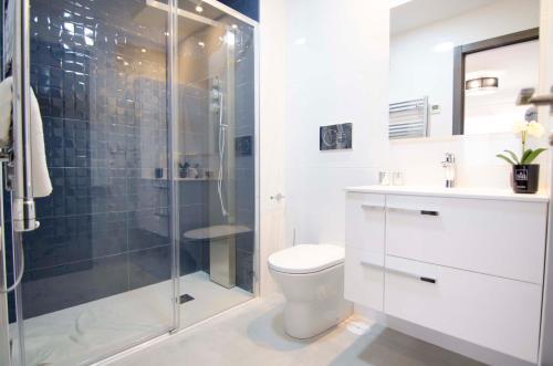Een badkamer bij Mar de Pulpí Costa de Almeria Mar Holidays
