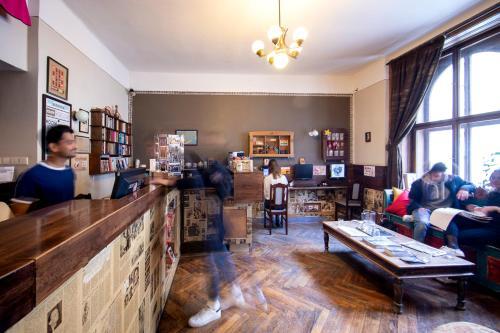 Vstupní hala nebo recepce v ubytování Sir Toby's Hostel