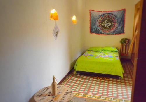 Cama o camas de una habitación en Kichua Hostel Colombia