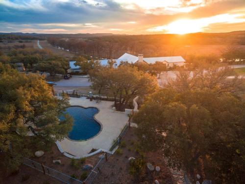 A bird's-eye view of Joshua Creek Ranch