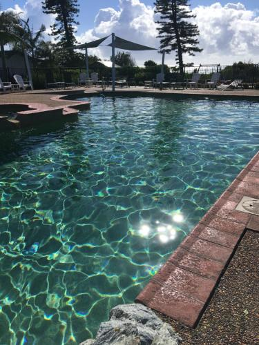The swimming pool at or near Diamond Beach Holiday Park