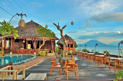 Kolam renang di atau di dekat Ocean Terrace Suite And Spa Luxury