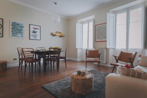 Area soggiorno di Filiberto al quarto