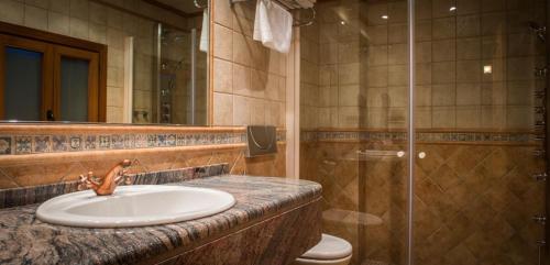 Un baño de Hotel El Castell