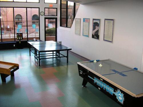 Ping-pong facilities at Sedona Springs Resort, a VRI resort or nearby