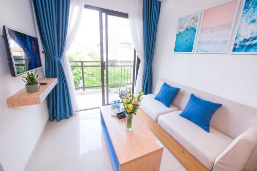 Гостиная зона в Sincero Hotel & Apartment