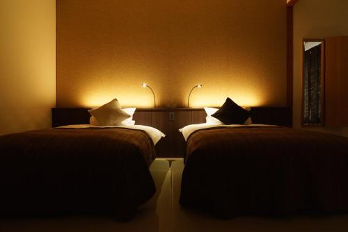 金太郎温泉にあるベッド
