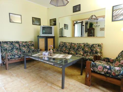 A seating area at Holiday home in Agard/Velence-See 34926