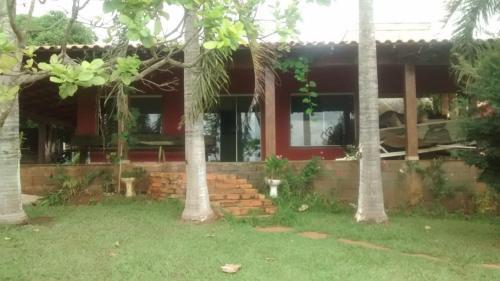 A garden outside Recanto de Furnas