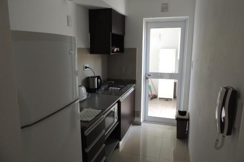 Una cocina o kitchenette en Chivilrent