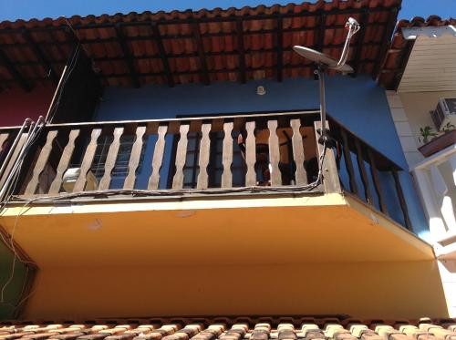 A balcony or terrace at Angel Ilha Flats