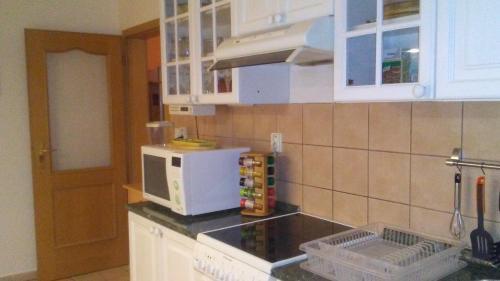 Kuchyň nebo kuchyňský kout v ubytování Apartment Smeralova
