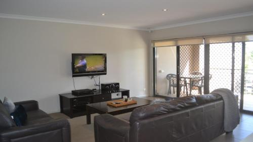 A seating area at 33B Cypress Drive Mulwala