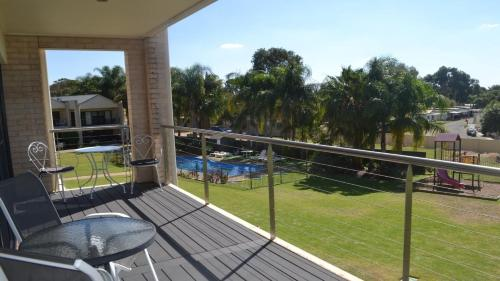 A view of the pool at ELSINOR Townhouse 10 Mulwala or nearby