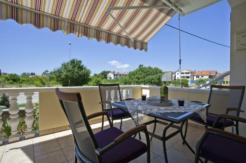 A balcony or terrace at Apartments Cvita