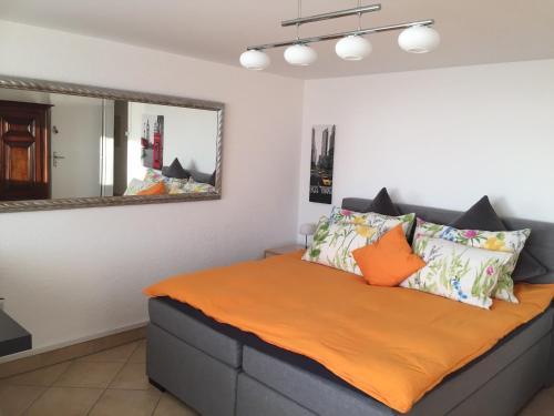 Ein Bett oder Betten in einem Zimmer der Unterkunft Magie Du Léman