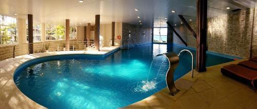 The swimming pool at or near Los Yamanas