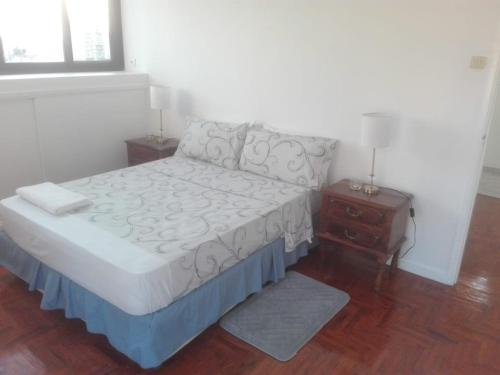 A bed or beds in a room at Carla's home