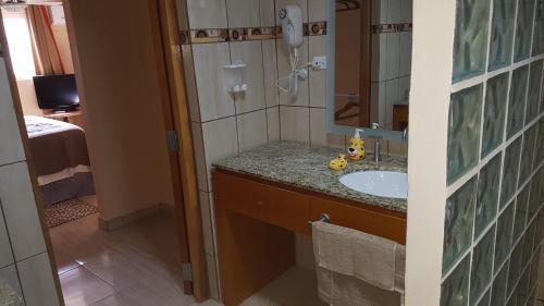Um banheiro em Olive's Apartment