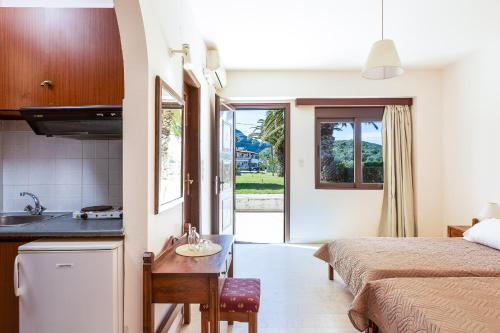 Küche/Küchenzeile in der Unterkunft Santa Maria Studios & Apartments