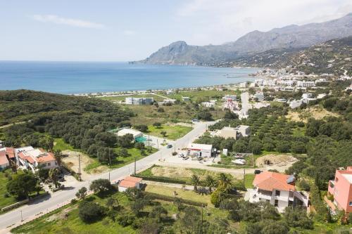 Blick auf Santa Maria Studios & Apartments aus der Vogelperspektive