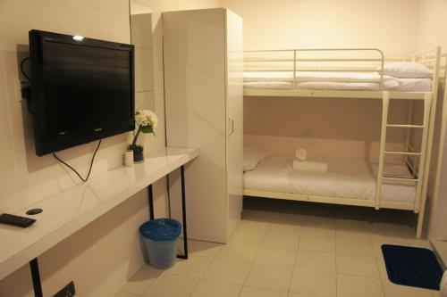A television and/or entertainment center at DWJ Hotel Ipoh