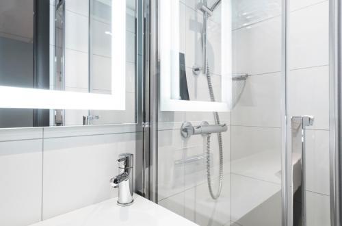 Salle de bains dans l'établissement Thon Hotel Polar