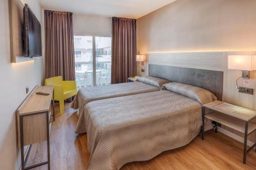 Cama o camas de una habitación en Port Fiesta Park