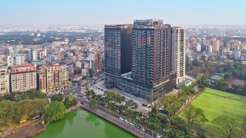 Wyndham Grand Yangonの鳥瞰図