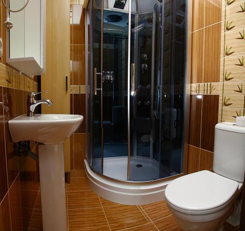 Ванная комната в Гостевой дом Невский 126